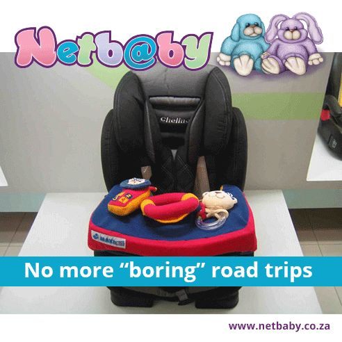 Babies tend to get bored real fast, especially while you are driving.  Have a look at the Chelino Play Tray: http://bit.ly/2iHVdWL