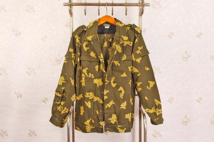 RUSSIAN BATTLE DRESS UNIFORM SPETSNAZ (BIRCH)  #camo #camouflage #dress #military #suit #spetsnaz #specnaz #birch #afghanistan