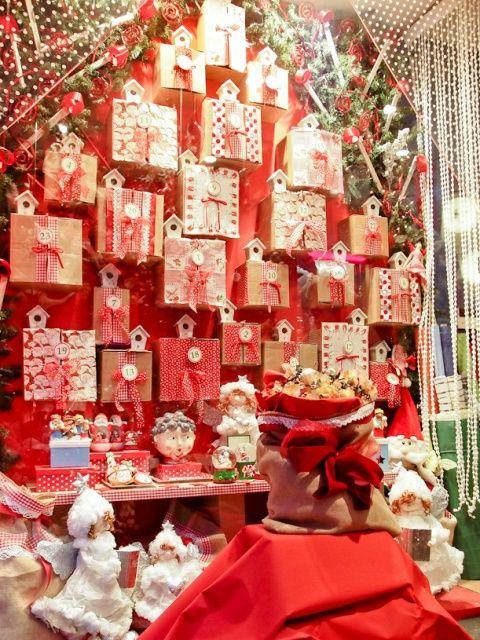 Escaparate de Navidad 2012 de Papelería Arnaga, comercio CiB