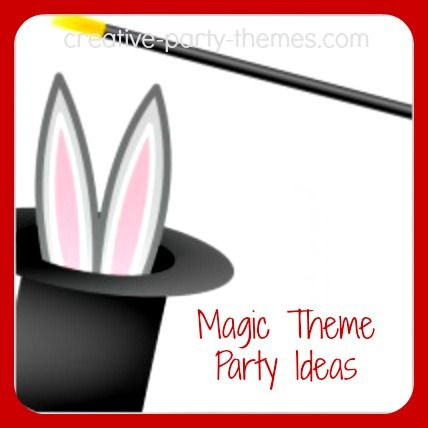 A magic theme party is sure to amaze! Ideas for invitations, decorations, and activities, plus tips for hiring a magician and learning some magic tricks.