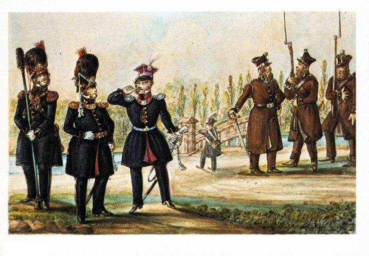 National Guard of Warsaw. Artyleria gwardii Narodowej,gwardzista narodowy i Straż Bezpieczeństwa- R.Rupniewski