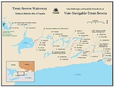 The Trent Severn Waterway is amazing ! Fenelon Falls is home to TSW Lock 34