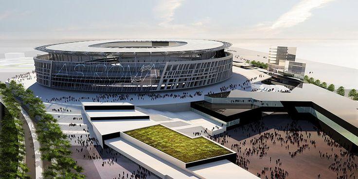 Футбольные стадионы будущего. Какие арены строят себе топ-клубы Европы? Стадионы Италии.
