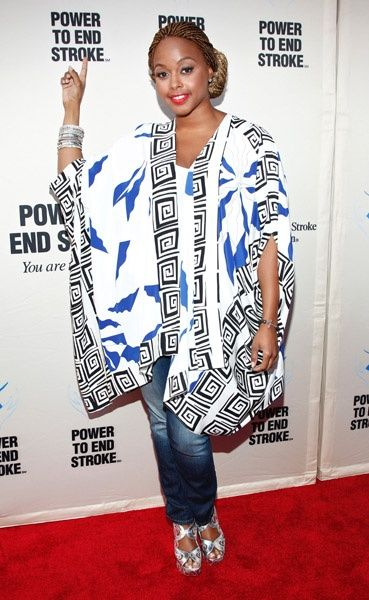 Chrisette Michele performed at You Are The Power concert at The Apollo
