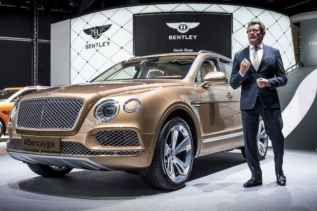 le Bentayga de Bentley