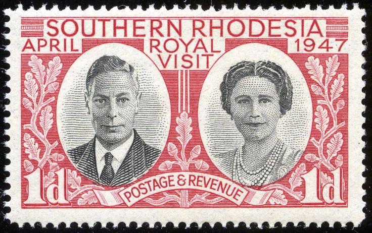 King George VI Southern Rhodesia 1947
