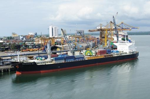 Buenaventura, puerto líder en la costa Pacífica de Colombia.