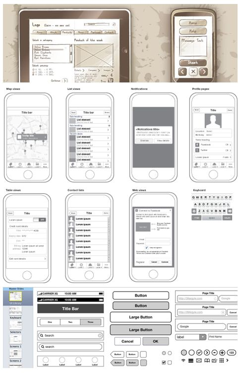 20 best wireframe blueprints images on Pinterest Sketches - new blueprint software ios