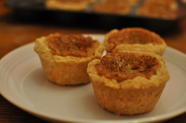 Amish Butter Tarts Recipe: sneak peak from the book Amish Cooks Across America (looks simple  delicious).