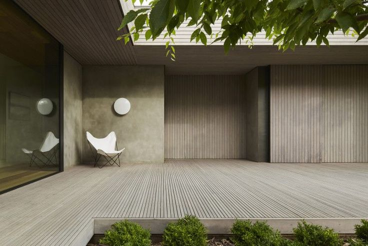 Links Courtyard House: Smaller Scale Allows Higher Quality Materials