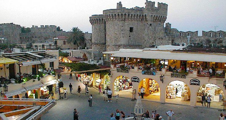 Rodos Adası, Yunanistan