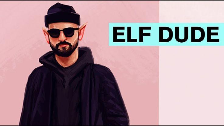 Time Lapse Painting - Elf Dude  #art #artist #draw #drawing #youtube #video #speedpainting #time #lapse #timelapse #elf #dude #illustration #youtuber #blog #artblog #blogger