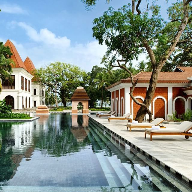 Pool or beach, an age-old question. Luckily, Grand Hyatt Goa on India's famed Bambolin Bay boasts the best of both.