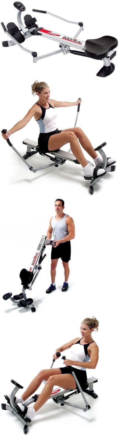 Rowing Machines 28060: Stamina Rowing Machine Body Trac Glider Compact Storage Steel Frame Gas Shock -> BUY IT NOW ONLY: $180.69 on eBay!