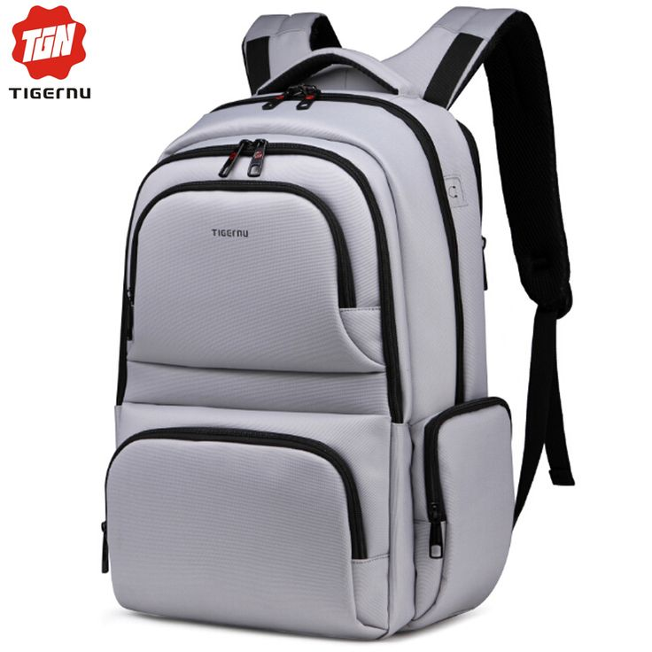 Tigernu Computer Bag Backpack Anti Thief Dark Grey Nylon Waterproof Bag for Notebook Backpack Laptop Bag 15.6-in Laptop Bags & Cases from Computer & Office on Aliexpress.com | Alibaba Group