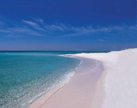 And another reason to miss home. Looks like paradise at times! Pensacola Beach. The best part about living in the P-Cola area was the beach - I miss the sand!