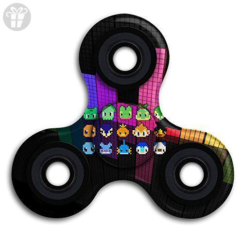 Fidget Spinner Pattern Pokemon Squirtle Fidget Toy Hand Spinner Camouflage Tri-Spinner Fidget Toy ADHD Focus Anxiety Relief Toys - Fidget spinner (*Amazon Partner-Link)