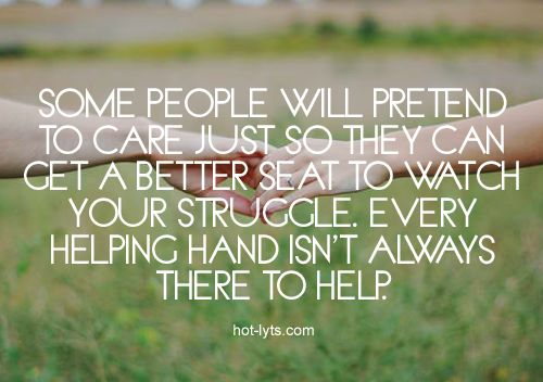 two faced quotes for facebook | some people will pretend to care just so they can get a better seat