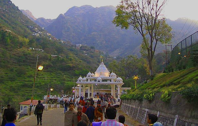 Vaishno Devi temple in katra is one of the best tourist attraction in J&K and popular all over India