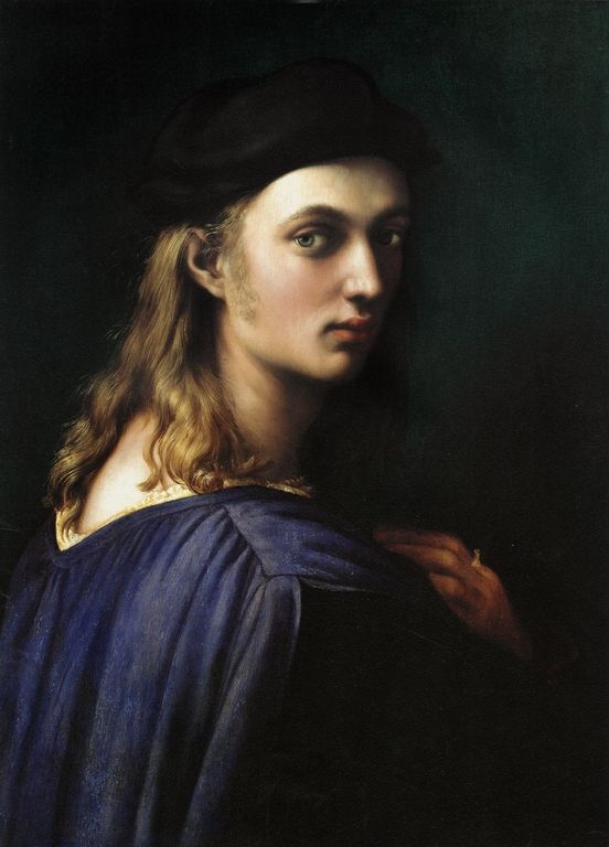 Raffaello Sanzio     portrait of bindo altoviti - RAFFAELLO Sanzio