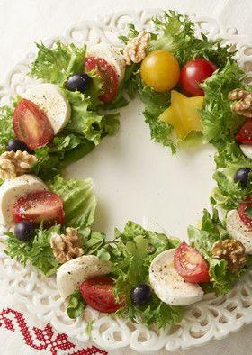 【仕上げの魔法】料理に命を吹き込むの。クリスマスの盛り付けアイデア10選|MERY [メリー]