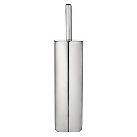 Buy Robert Welch Burford Toilet Brush and Holder, Stainless Steel Online at johnlewis.com