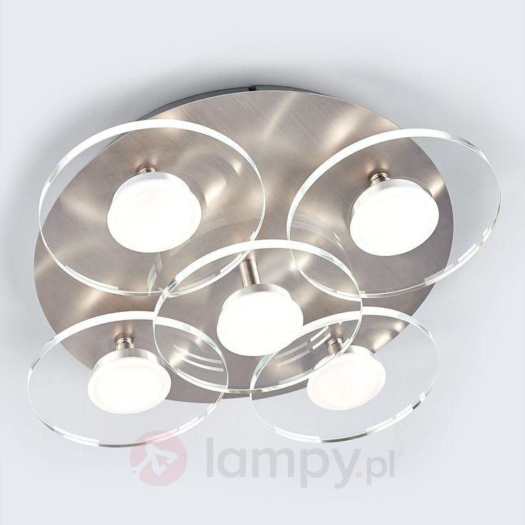 5-punktowa lampa sufitowa LED TIAM 9625053