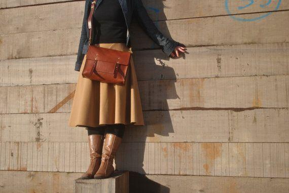 Made in UK - Leather Messenger Bag $200 Etsy