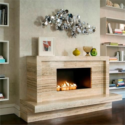 Vent Free, Freestanding Fireplace From Spark Modern Fires