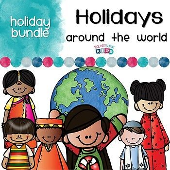 Holidays Traditions Around the World Bundle I have had a request to create a bundle of my Holidays around the World sets. The sets cover Diwali, Christmas, Hanukkah, Las Posadas, Kwanzaa and Dong Zhi This sets of Holidays Around the World is perfect for