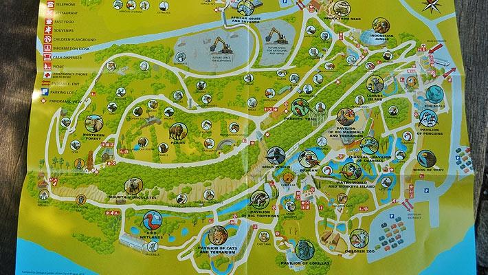 Harta cu locatiile de la Gradina zoologica din Praga  O zi la Gradina zoologica din Praga - galerie foto.  Vezi mai multe poze pe www.ghiduri-turistice.info