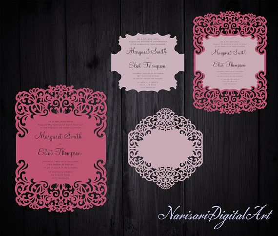 91 best images about laser cut wedding invitations on