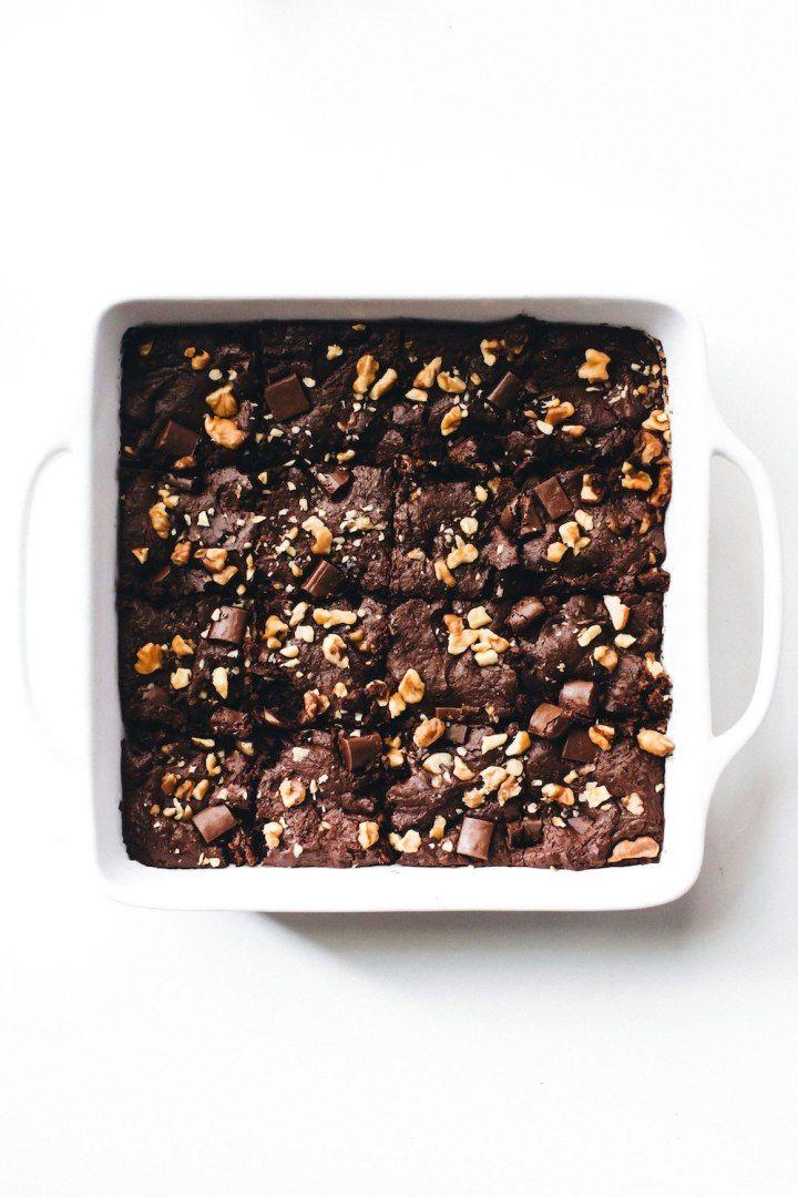 Walnut Chocolate Chunk Brownies Recipe Chocolate Chunk