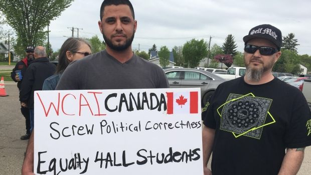 Anti-immigrant protest at Red Deer school follows student fight: Fight involved Syrian students who critics say were unfairly spared punishment by school officials (CBC News 23 May 2017)