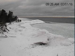 Michigan Snow Cams Eagle Harbor Webcam
