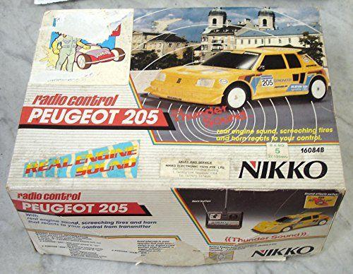 Peugeot 205 Nikko RC Radio Remote Control Scale 1/16 Nikk... https://www.amazon.com/dp/B01HMNDJYQ/ref=cm_sw_r_pi_dp_x_NRAtybANHAJF3