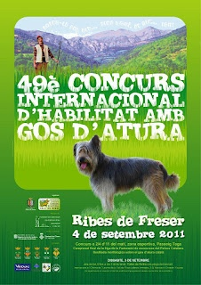 Cartell Gossos d'atura 2011