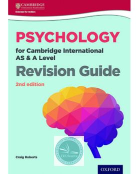 9780198366799, Psychology for Cambridge International AS and A Level Revision Guide 2nd edition - CIE SOURCE