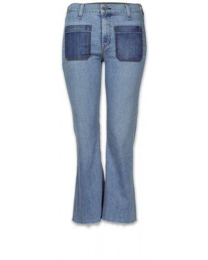 Rag & Bone Santa Cruz Flare Damen Jeans hellblau