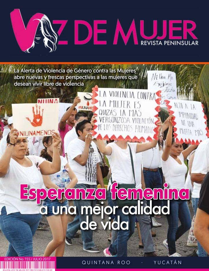 Revista Voz de Mujer Julio 2017 No. 155