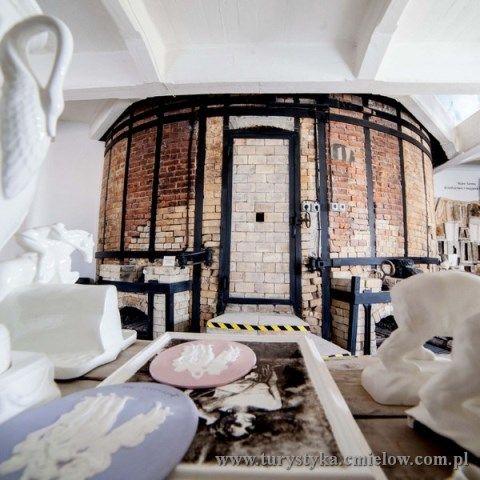 Żywe Muzeum Porcelany - piec