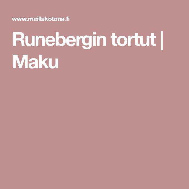 Runebergin tortut | Maku