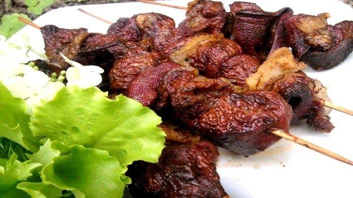 Liver Shashlik Recipe