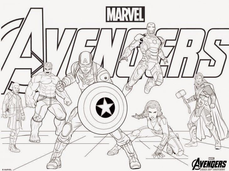 Avengers Printable Coloring Pages Avengers Coloring Pages Captain America Coloring Pages Avengers Coloring