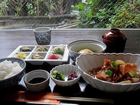 ゆず家【京都グルメ本】ランチ・和食の取材記事です