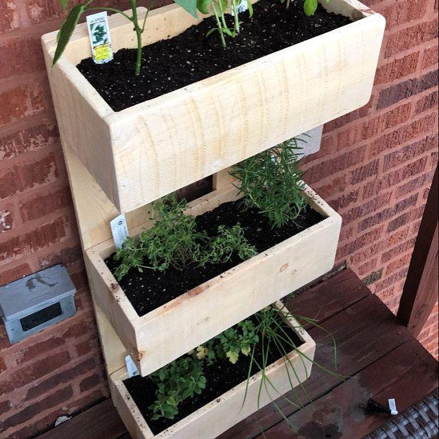 3 or 4 Tier Cedar Planter