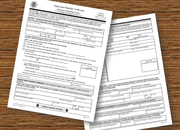 New I-9 Forms - March 8, 2013