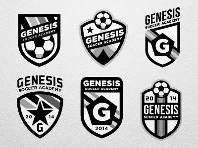 Soccer team logos design