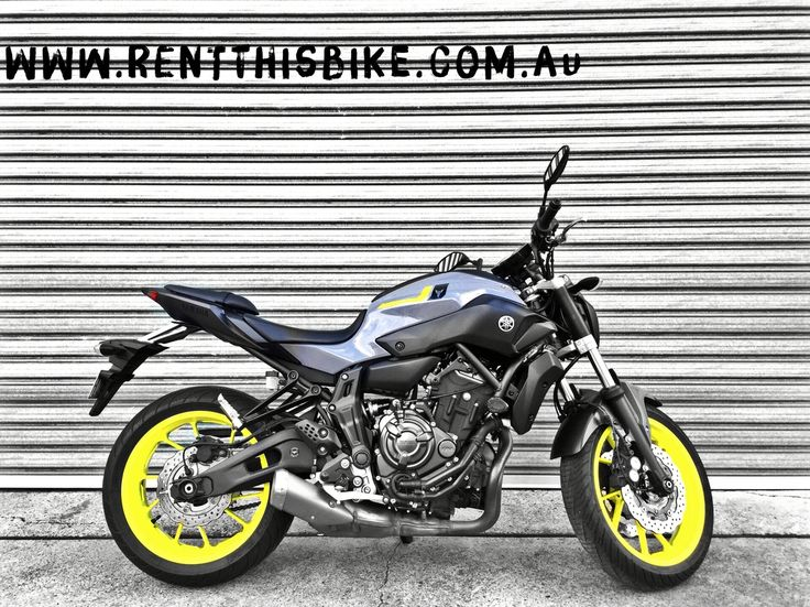 #Yamaha #MT07 , one of the most popular.......book it well ahead of time! www.rentthisbike.com.au