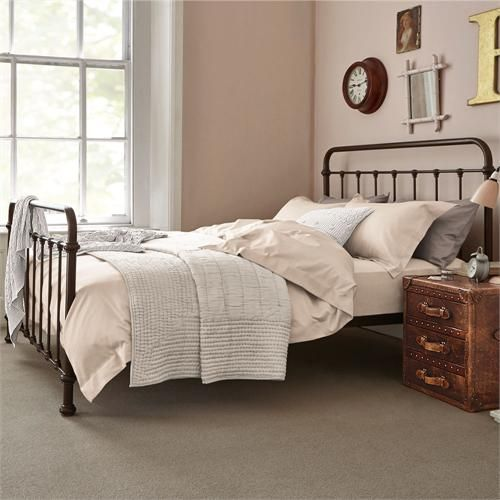 Oliver Iron Bedstead; the bestseller from luxury bedroom furniture retailer Feather & Black. WANT WANT WANT!